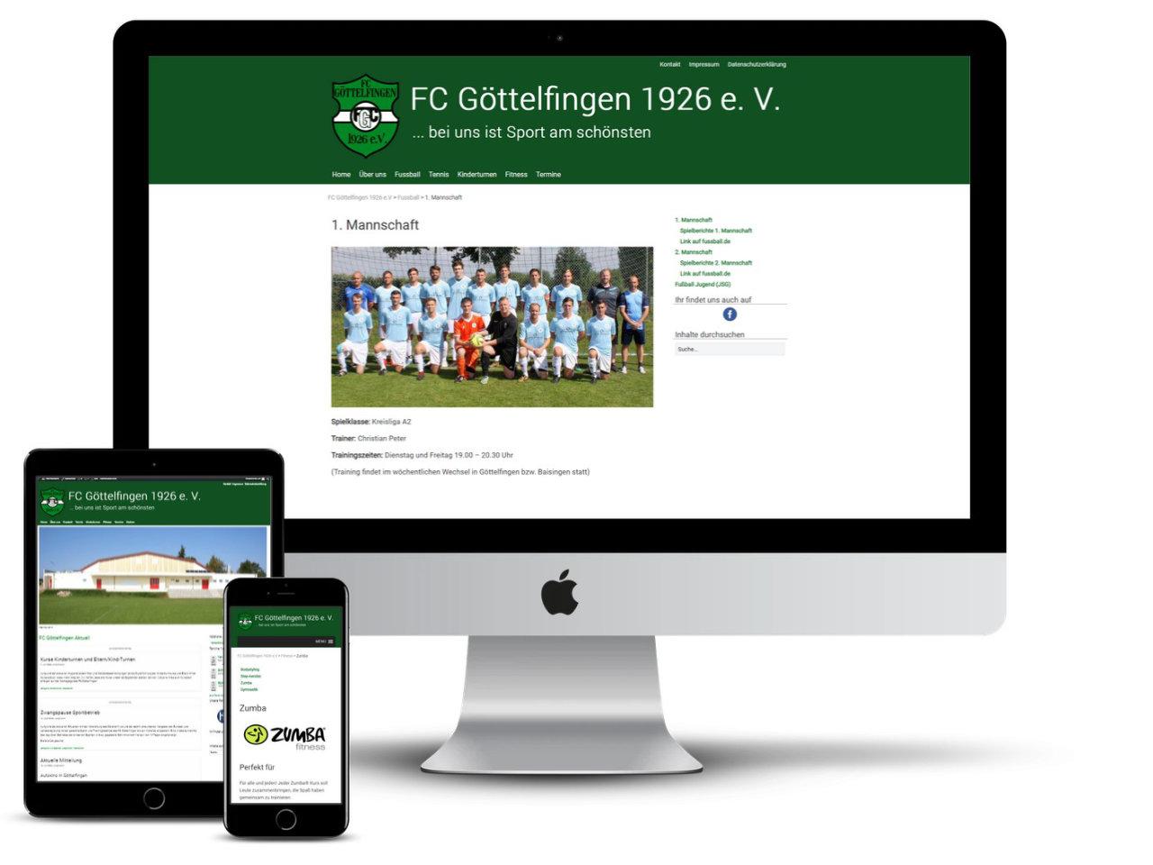 Homepage FC-Göttelfingen