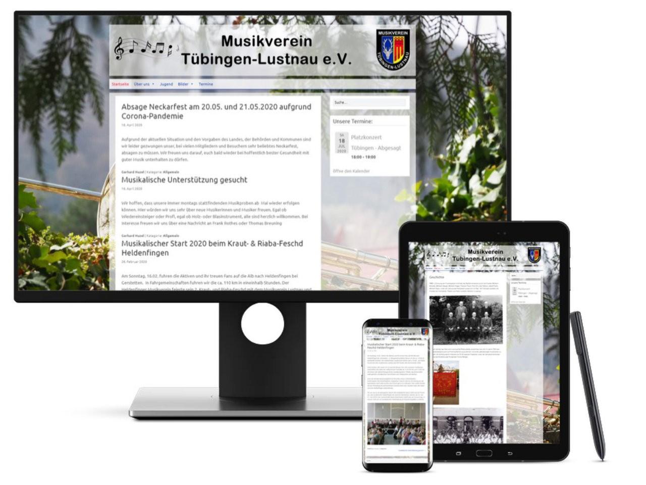 Homepage Musikverein Tübingen Lustnau