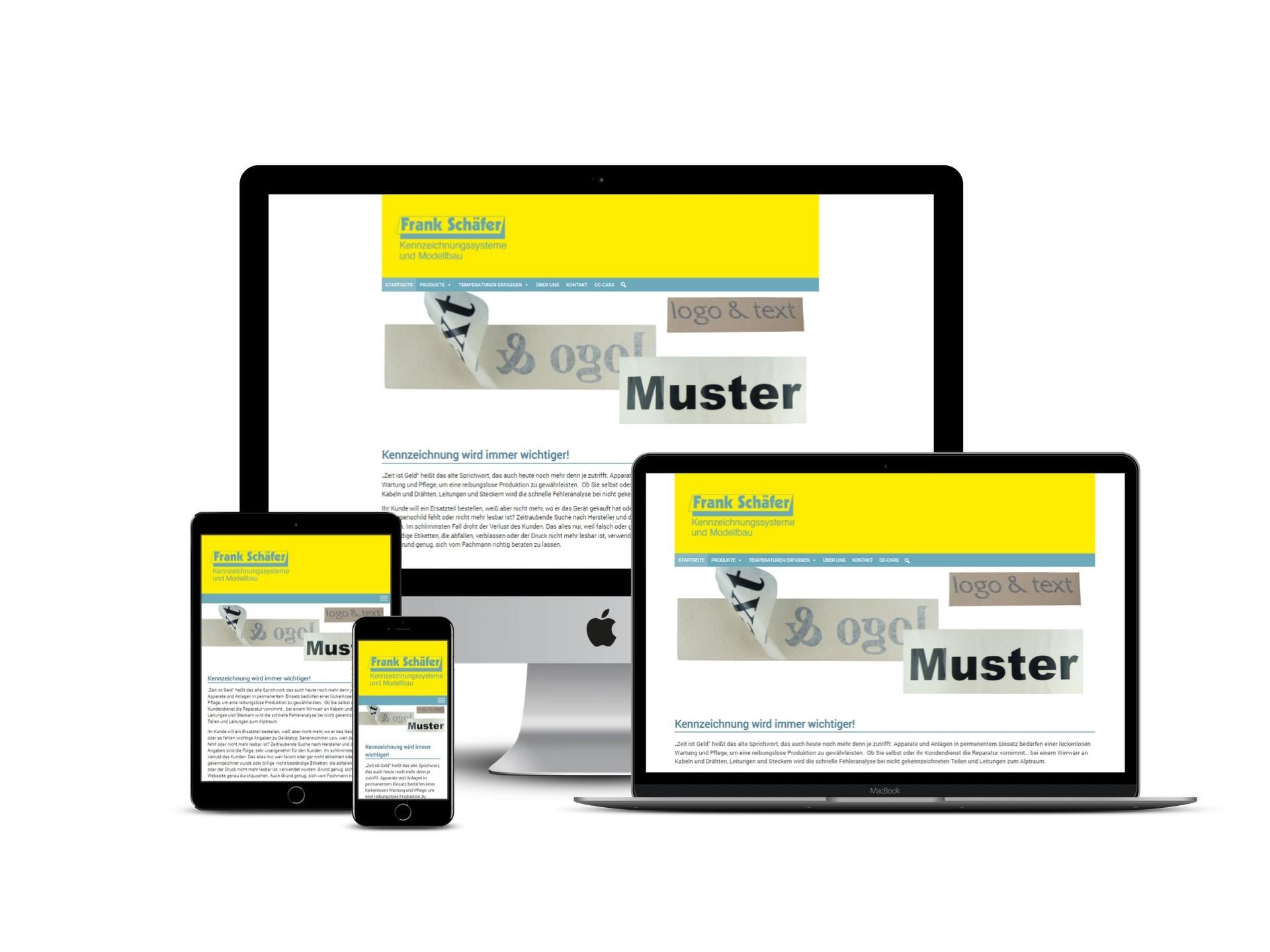 Homepage Schäfer Kennzeichnungssysteme